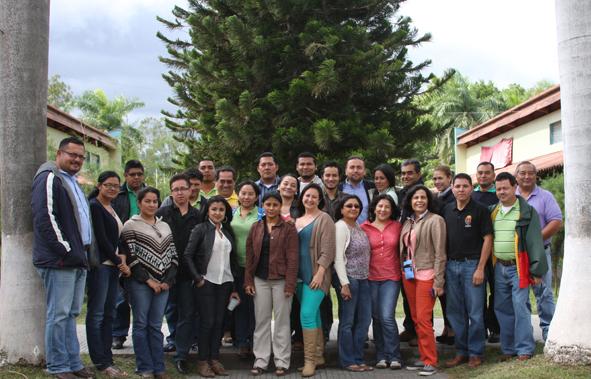 Foto de grupo, Taller Nacional CAPFITOGEN - Honduras